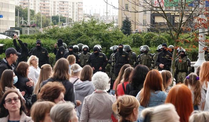 Министр иностранных дел Белоруссии оправдал действия силовиков во время акций протеста