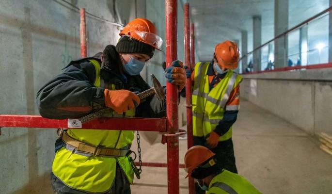 Строительство Троицкой линии московского метро идет полным ходом