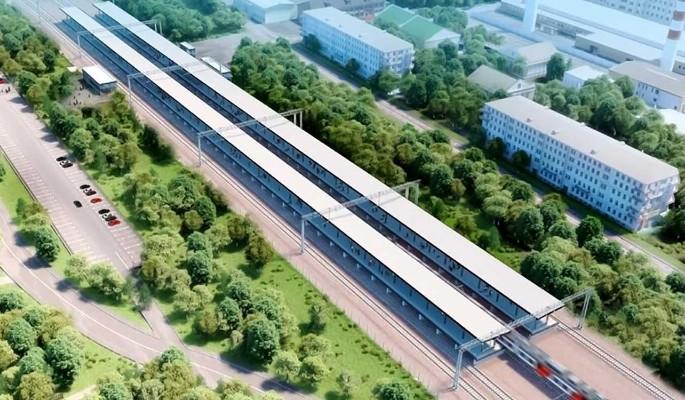 В Москве благоустроят территорию возле станции Мещерская будущего МЦД-4