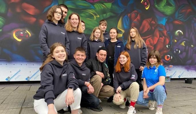 Фестиваль «Культурный код» и РДШ запускают творческие лагеря для увлеченных стрит-артом школьников