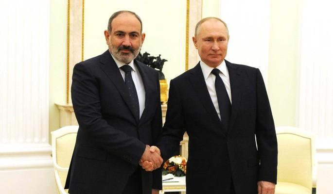 Стали известны подробности разговора Путина и Пашиняна