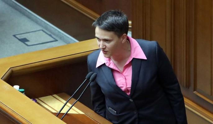 Савченко разоблачила истинных руководителей Украины