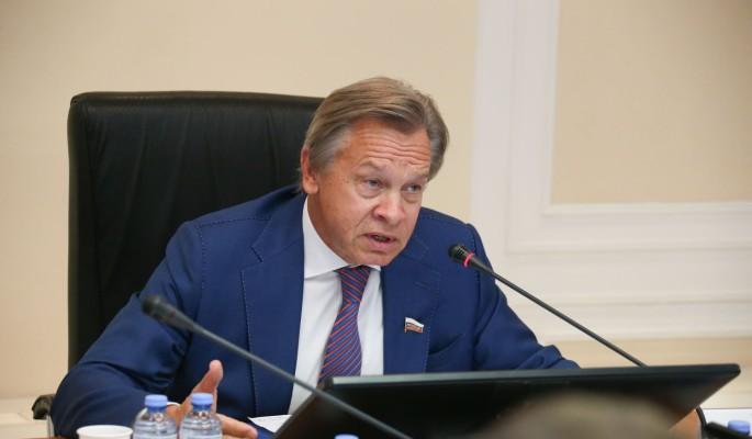Пушков отреагировал на слова Зеленского о европейской Украине: Это просто пустозвонство