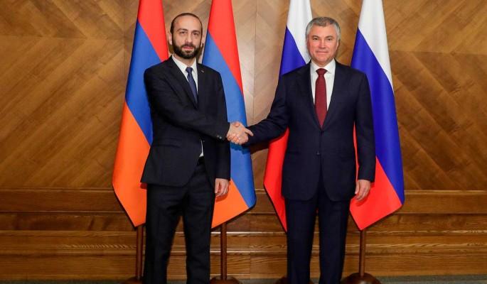 Володин обсудил Нагорный Карабах с главой парламента Армении
