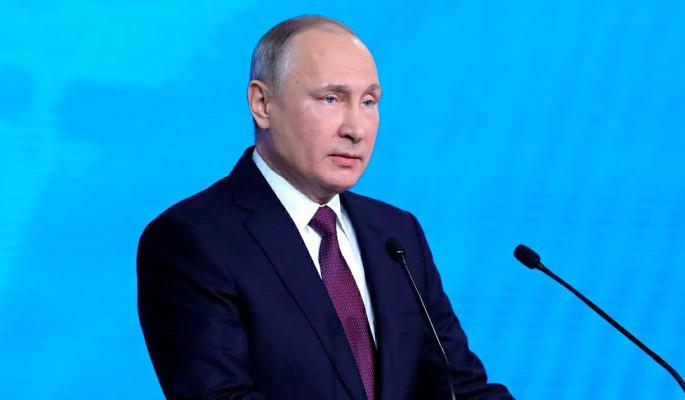 """Путин может выступить на съезде """"Единой России"""""""
