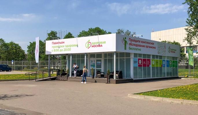 Павильоны Здоровая Москва пользуются популярностью у горожан