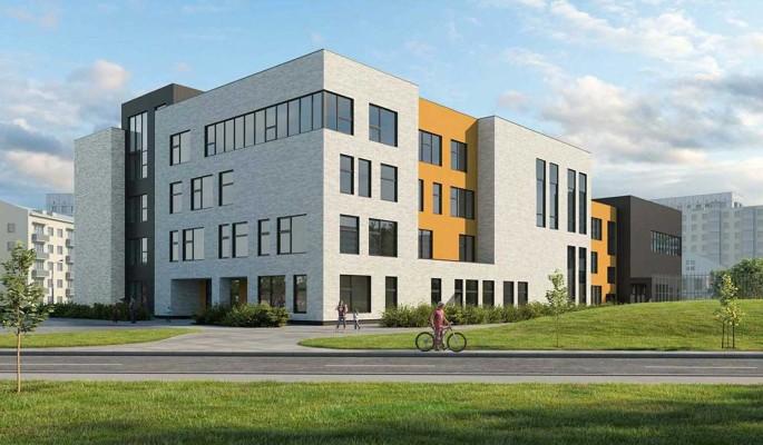 Учебный корпус для гимназии  1518 построят в Останкинском районе до конца 2021 года