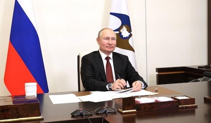 """Путин обратился к участникам онлайн-марафона """"Новое знание"""""""
