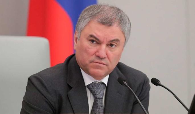 Володин объяснил необходимость адресной поддержки регионов