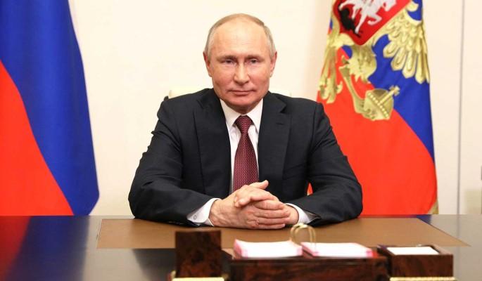 Путин в День защиты детей встретился с российскими семьями