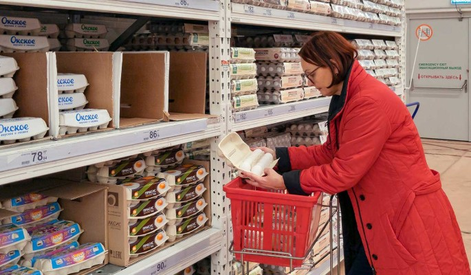 Россиян предупредили о возможном росте цен на яйца