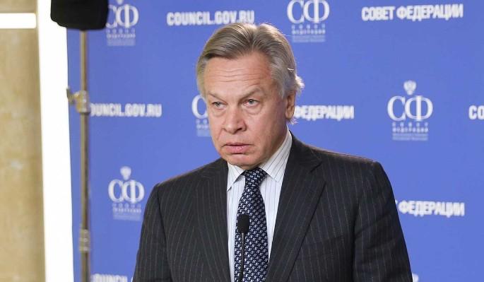 """Пушков заявил о """"разрыве"""" на Западе из-за России"""