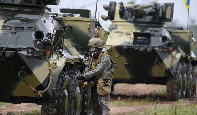 Вооруженные силы Украины провалили учения НАТО