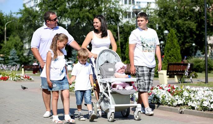 В России предложили увеличить пенсию для многодетных родителей