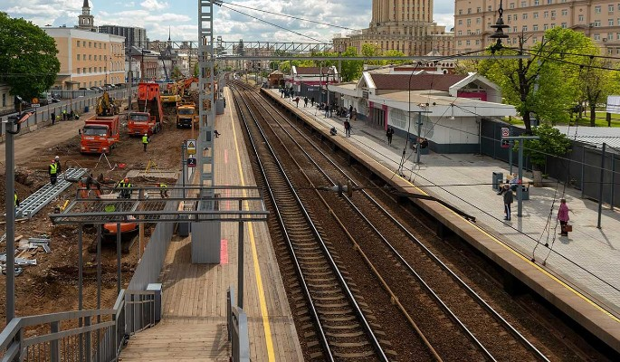 Новые платформы станции Каланчевская приобретут исторический облик