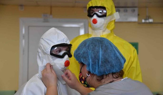 В России снова выявили более 17 тысяч новых случаев коронавируса