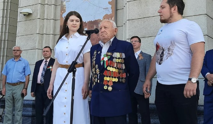 """""""Волонтеры Победы"""" исполняют мечту ветерана ВОВ"""