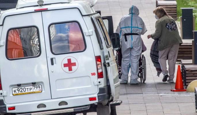 В России за сутки выявили более 20 тысяч новых случаев заражения COVID-19