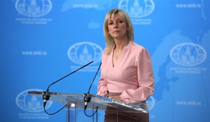 """Захарова заявила о подготовке """"цветной революции"""" в Белоруссии"""
