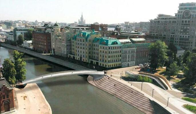В центре Москвы появится еще один пешеходный мост