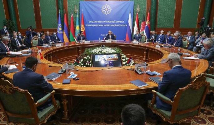 Совет ПА ОДКБ осудил террористические акты в Афганистане