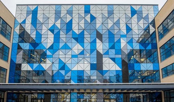 В Левобережном районе построили одну из самых больших школ в Москве