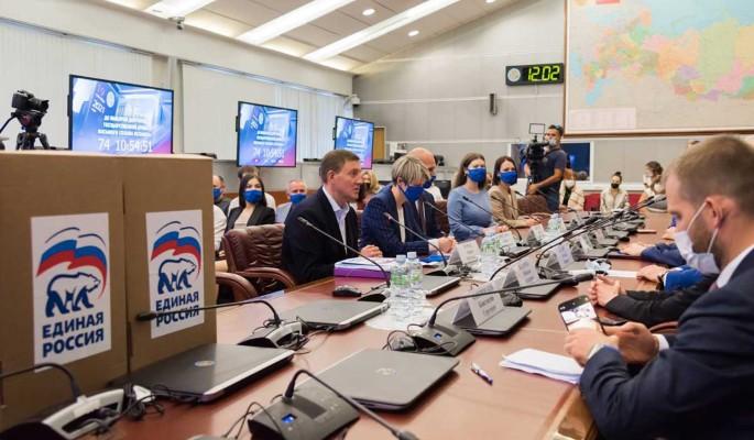 Единая Россия подала в ЦИК документы о выдвижении кандидатов на думские выборы
