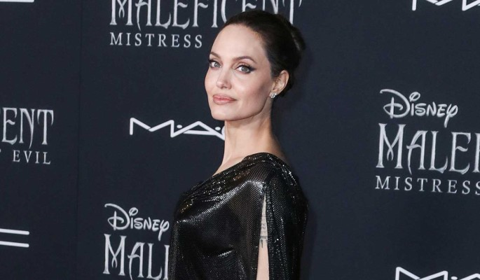 Выкуси, Питт: Джоли подогревает слухи о романе с темнокожим рэпером