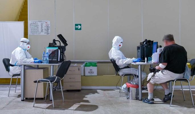 В России коронавирусом заразились 24,7 тысячи человек