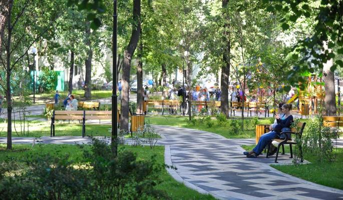 Современный сквер появится рядом с прудом на Чертановской улице