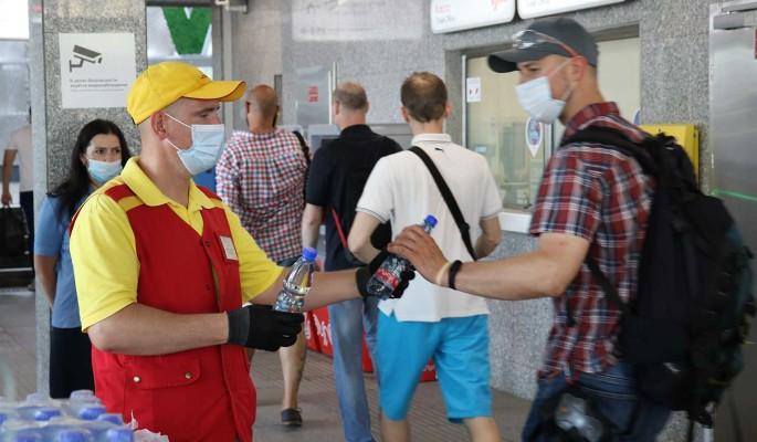 Пассажирам будут раздавать бесплатную воду на московских вокзалах