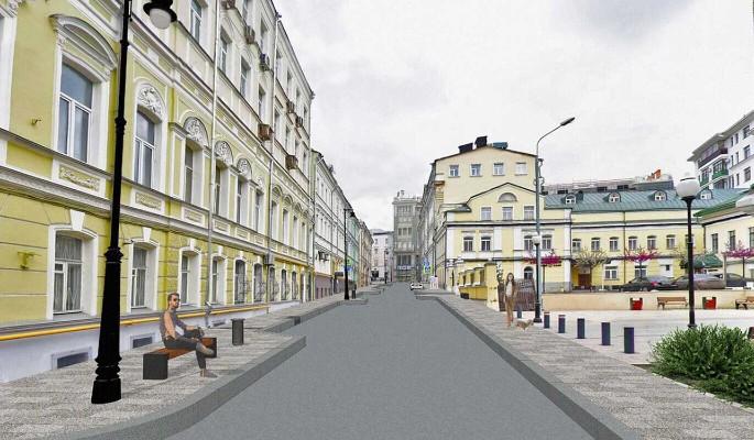 Новый пешеходный маршрут появится в Дмитровском переулке