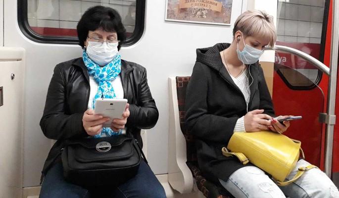В России за сутки 25 293 человек заразились коронавирусом