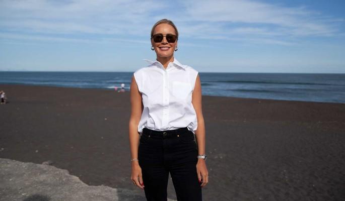 Елена Летучая чистит пляжи Камчатки