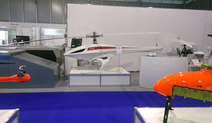 КБ Русь представило многоцелевой беспилотный грузовой вертолет