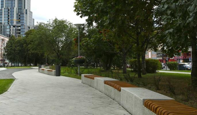 """В районе Беговой построят парк с зонами для работы """"на удаленке"""""""