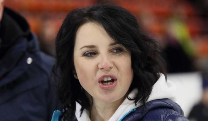 Слуцкая в подвенечном платье восхитила россиян