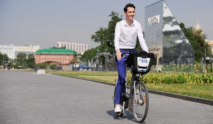 В Москве проложили три километра новых велодорожек
