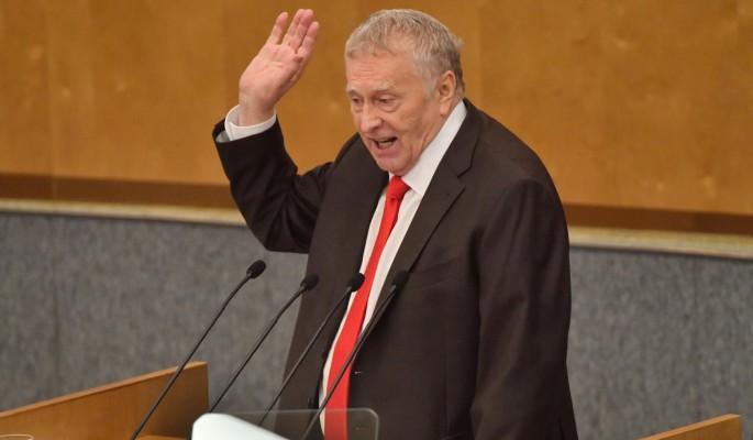 Жириновский попросил лидера коммунистов отстать от Грудинина