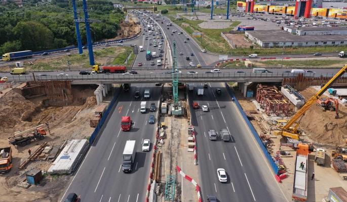 Реконструкция развязки МКАД с Алтуфьевским шоссе завершится к 2023 году