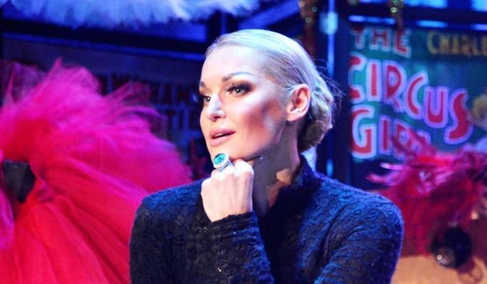 Голая Волочкова прикрылась тряпочкой: А где трусы?