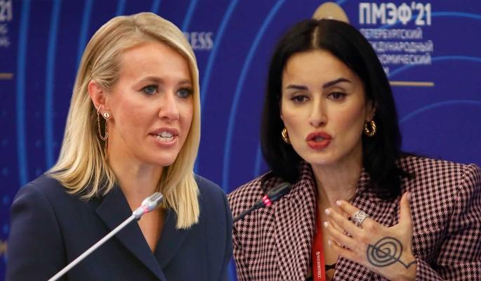 Заклятые подруги: раскрыта причина взаимной ненависти Канделаки и Собчак