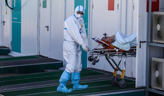 В России за сутки коронавирус выявили у 23 270 пациентов