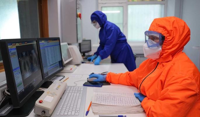 В России коронавирус выявили у больше чем 23,5 тысячи человек