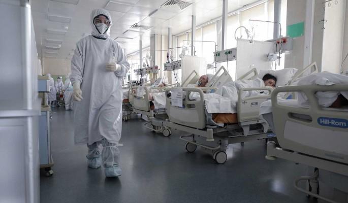 Чуть больше 22 тысяч человек заболели ковидом в России за сутки