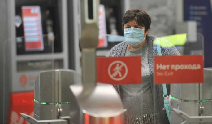 В России за сутки коронавирус выявили у 21 571 человек