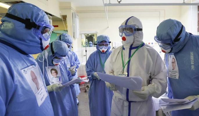 Около 19,5 тысячи человек заболели ковидом в России за сутки