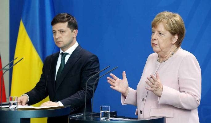 Меркель проявила неадекватность на встрече с Зеленским  политолог Погребинский