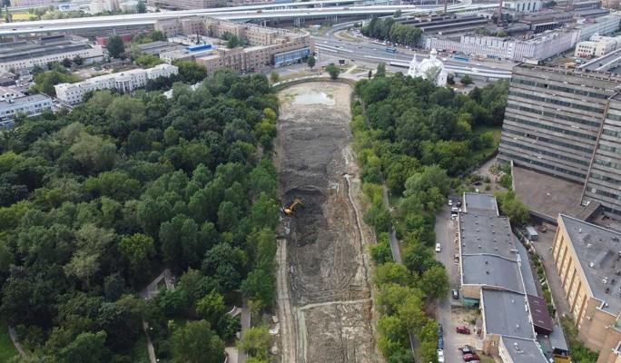 Реконструкция Владимирского пруда завершится к октябрю
