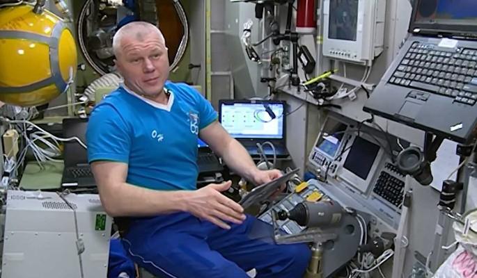 Находящийся на МКС космонавт Новицкий подал заявку на онлайн-голосование